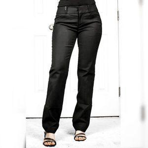 Loft Marisa Black Straight Leg Dress Pants